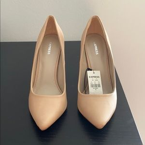 Nude heels size 8 NWT